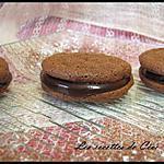 recette Petits gâteaux styles macarons au chocolat corsé