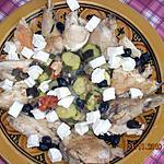 recette Poulet à la provençale et au chèvre fondant