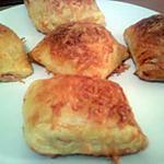 recette Feuilletés saumon fumé & noix & fromage ail et fines herbes