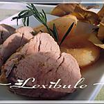 recette Porc aux poires et au romarin