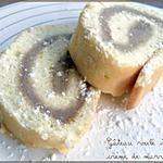 recette Gâteau Roulé à la Crème de Marrons