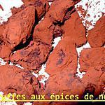 recette truffe aux épices de noel