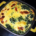 recette Gratin épinard, gorgonzola, graines de carvi