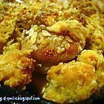 recette Crumble de boudins blancs aux pommes