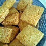 recette Gateaux salés a la semoule (mbessess)