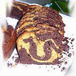 recette Marbré chocolat et caramel au beurre salé
