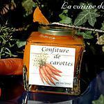 recette Confiture de carottes