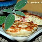 recette Blinis au jambon de pays et parmesan