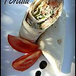 recette WRAPS ou TORTILLA AU THON (TUNA WRAPS / SANDWICH)