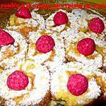 recette petit roulée à la crème aux raisins de corinthe