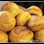 recette petits muffins au potiron