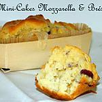recette Ooo #Apéritif : Mini cakes mozzarella & brési ooO