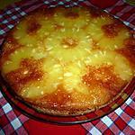 recette Gâteau à l'ananas d'Eglantine