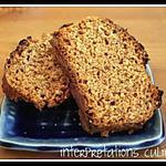 Pain d'épices marron-clémentine
