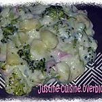 recette Gratin de brocolis au roquefort