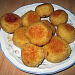 recette Croquette de riz cuit