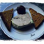 foie gras de canard maison au pain d'épice et figue