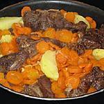 recette Le boeuf aux carottes