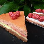 recette Cheesecake citron-pralines roses rémois