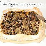recette Ooo Tarte légère aux poireaux ... ooO