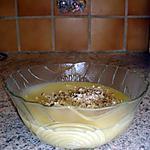recette soupe préférée de Raiponce (panais à la noisette)