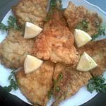 recette Filets de merlan panés