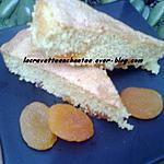 recette Gâteau à l'abricot sec et l'huile d'argan