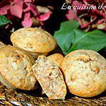recette Mignardises à la courge muscade et noix