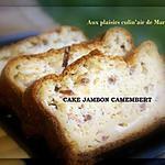 recette CAKE JAMBON CAMEMBERT