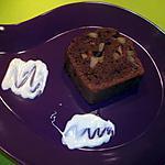 recette Cake au chocolat, kiwi & pomme