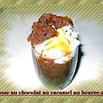 recette mousse chocolat au caramel beurre salée