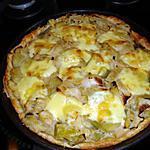 recette tarte aux poireaux et gouda pour se mettre au vert avant noel