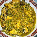 recette mon poulet aux olive hum trop bon
