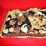 recette TARTE CHOCOLAT NOISETTE