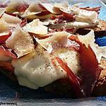recette Tartine chaude à l'italienne