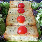 recette Petits flans à la jardinière de légumes