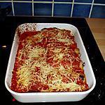 recette cannélloni  au boulette de viande a la provencale