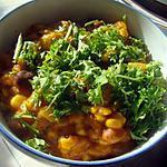 recette Soupe aux alphabets et purée de potiron