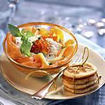 recette Salade de Saumon au Chêvre Frais