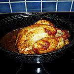 recette poulet mariné au four