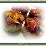 recette Moules aux poivrons et tomate basilic