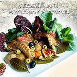 recette Cuisseau de Lapin aux Topinambours et Pois Gourmands