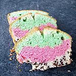 recette Cake psychédélique