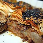 """recette Baklava à la poire & aux noix selon """"Elle à Table"""""""
