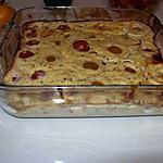 Gâteau plume aux tomates cerise, à l'oignon et au basilic d'eryn