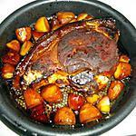 recette rouelle de porc caramélisée