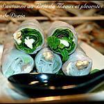 recette Rouleaux d'automne au Brie de Meaux et pleurotes