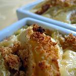 recette Mini clafoutis aux pommes et aux biscuits au miel