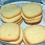 cookies : recette Butter Cookie