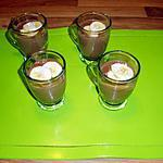 recette semoule de lait au toblerone et à la banane